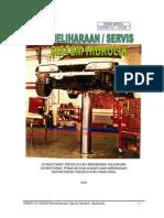 Pemeliharaan Servis Sistem Hidrolik