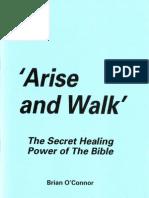 Brian O'Connor - 'Arise and Walk'