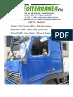 Camión Volvo FH12 - 380 HP