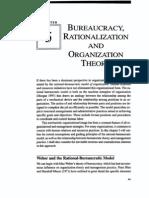 Bureaucracy Rationalization and OT