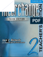 Interchange Third Edition 2 Teacher's Book