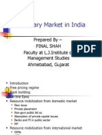 The Primary Market in India