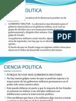 CIENCIA POLITICA 8 Gobierno Autocratico