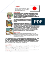 Japan (Social Studies Primary 6)
