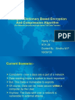 Intelligent Dictionary Based Encryption And Compression Algorithm