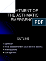 Treatment of Asthmatic Emergency