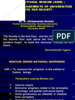 Gross National Wisdom