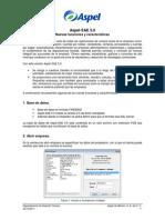 Nuevas Funciones y Caracteristicas Aspel SAE 5.0