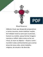 Ritual Rosacruz