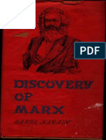 Discovery of Marx - Harsh Narain
