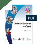 inclusión educativa en el peru
