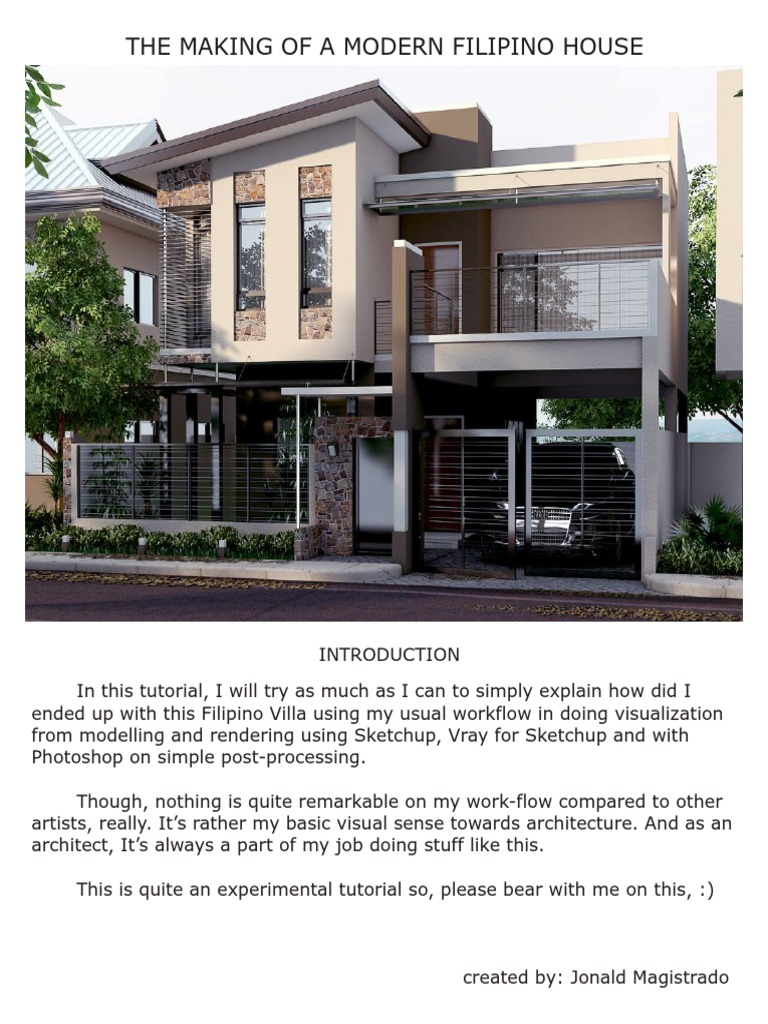 Vray Render setting for exterior | Texture Mapping | Rendering