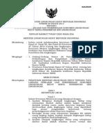 Permen LH 08 Th 2013 Tata Laksana Penilaian Amdal Dan Ijin Lingkungan