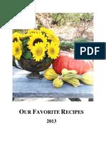 2013 Cookbook