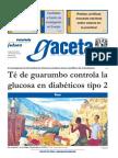 Té de guarumbo controla la diabetes - gaceta UNAM
