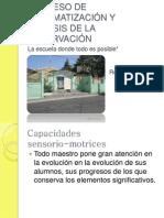 PROCESO DE SISTEMATIZACIÓN Y ANÁLISIS DE LA OBSERVACIÓN
