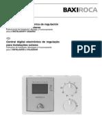 Central digital electrónica de regulação