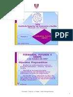 MestradoFINANCAS Modulo 1 200708