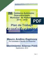Plan de Gobierno Mauro Andino Gad Riobamba Final