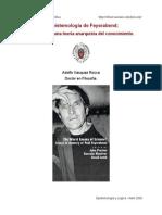 Divisiones teóricas. sobre feyerabend y Popper. crítica al método