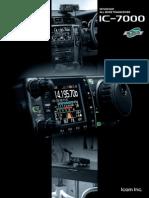 IC-7000 Product Brochure