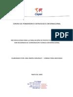 Metodologia Evaluacion Proyectos Financiados Recursos Cooperacion Cepei