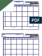Missions Season 2 Calendar
