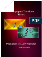 Demographic Transition Theory, Life-extension research, and New Questions