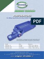 WAGNER Perforators