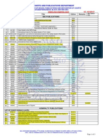 M O Monthly Publications Check List for Med Black Red Sea