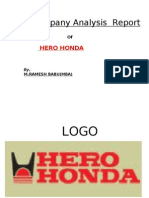 Hero Honda Project23