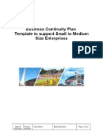 Business Continuity Plan Template for SME's (1)