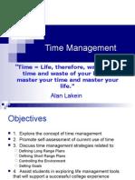 Time Management - Student Orientation