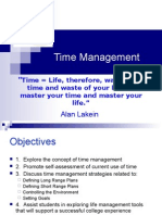Time Management - Student Orientation