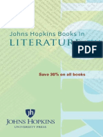 JHU Press 2014 Literature Catalog