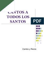 80647209 Cantos a Todos Los Santos
