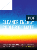 Cleaner Energy Cooler Climate