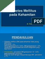 Diabetes Pada Kehamilan