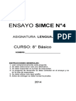 4°_ENSAYO SIMCE OCTAVO