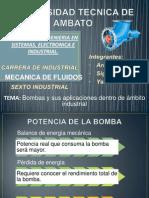 Aplicacion de Bombas