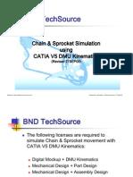 CATIA V5R17 Chain & Sprocket Simulation Explained