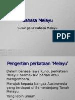 Susur Galur Bahasa Melayu 2