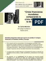Crisis Financieras Mundiales