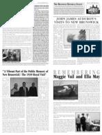 New Brunswick Historical Society Newsletter - January 2014