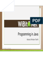 Programming in Java - 16 - Abstract Window Toolkit Awt