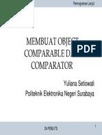 T - Comparable Dan Comparator