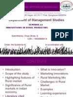 Innovations in Rural Marketing