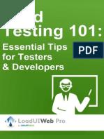 Load Testing 101 LUIWP