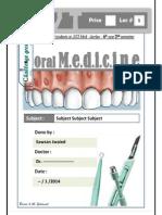 Oral Med Tamplete