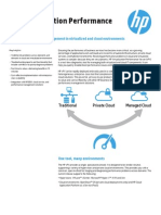 Datasheet_HP Virtualization Performance (vPV)